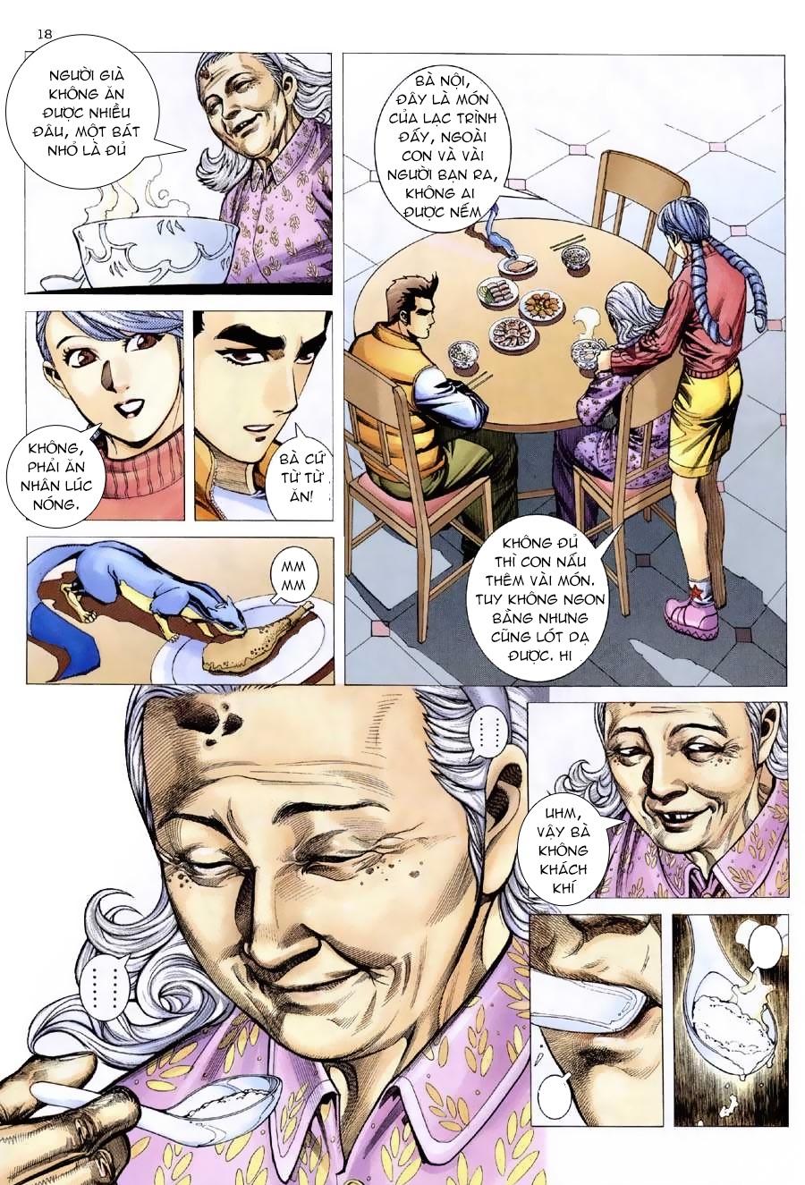 Xích Trụ Phạn Đường chap 9.2 - Trang 4