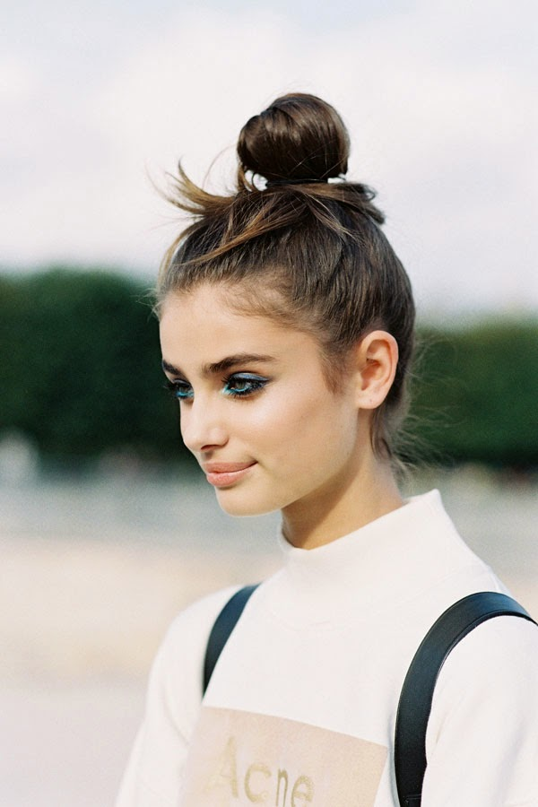 How to make french hair bun