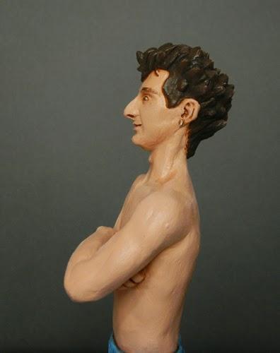 statuine realistiche oggetti fatti a mano ritratti in miniatura orme magiche