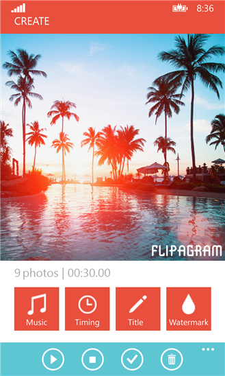 Flipagram | Buat Video Pendek Menggunakan Foto | Windows Phone