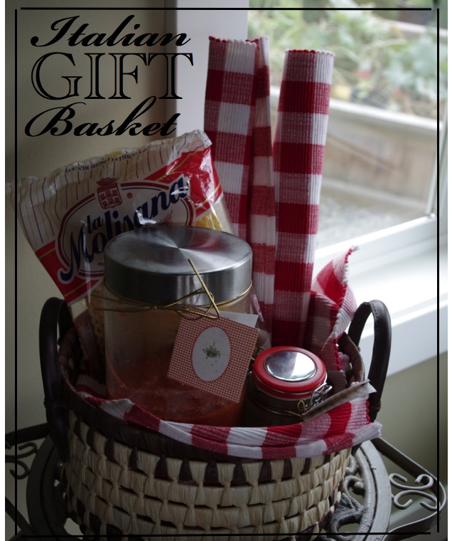 Creative quot try quot als italian dinner gift basket