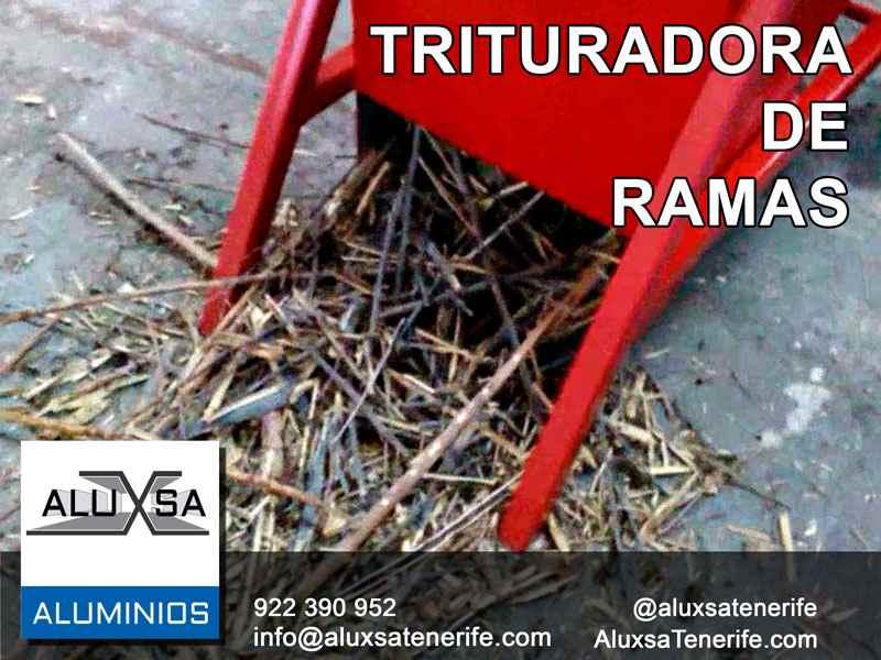 Aluxsa tenerife triturador de ramas para fabricar compost - Trituradora de ramas casera ...