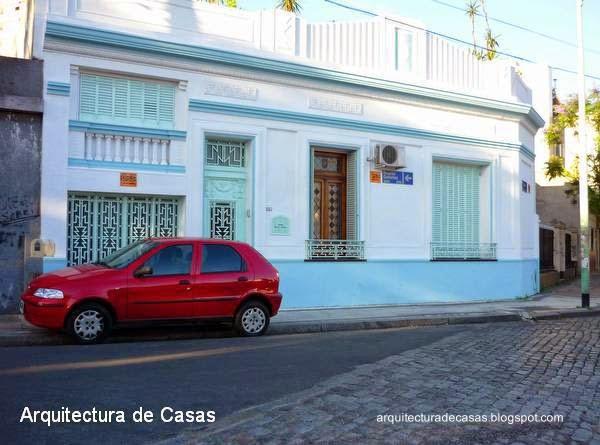 Casa Art Decó en un barrio de la Ciudad de Buenos Aires