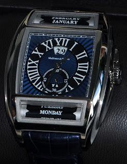 Montre Maîtres du Temps Chapitre Deux en or blanc Cadran Bleu référence C2T.00.21.132