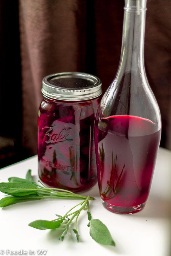 Click for Recipe for Blackberry Sage Vinegar