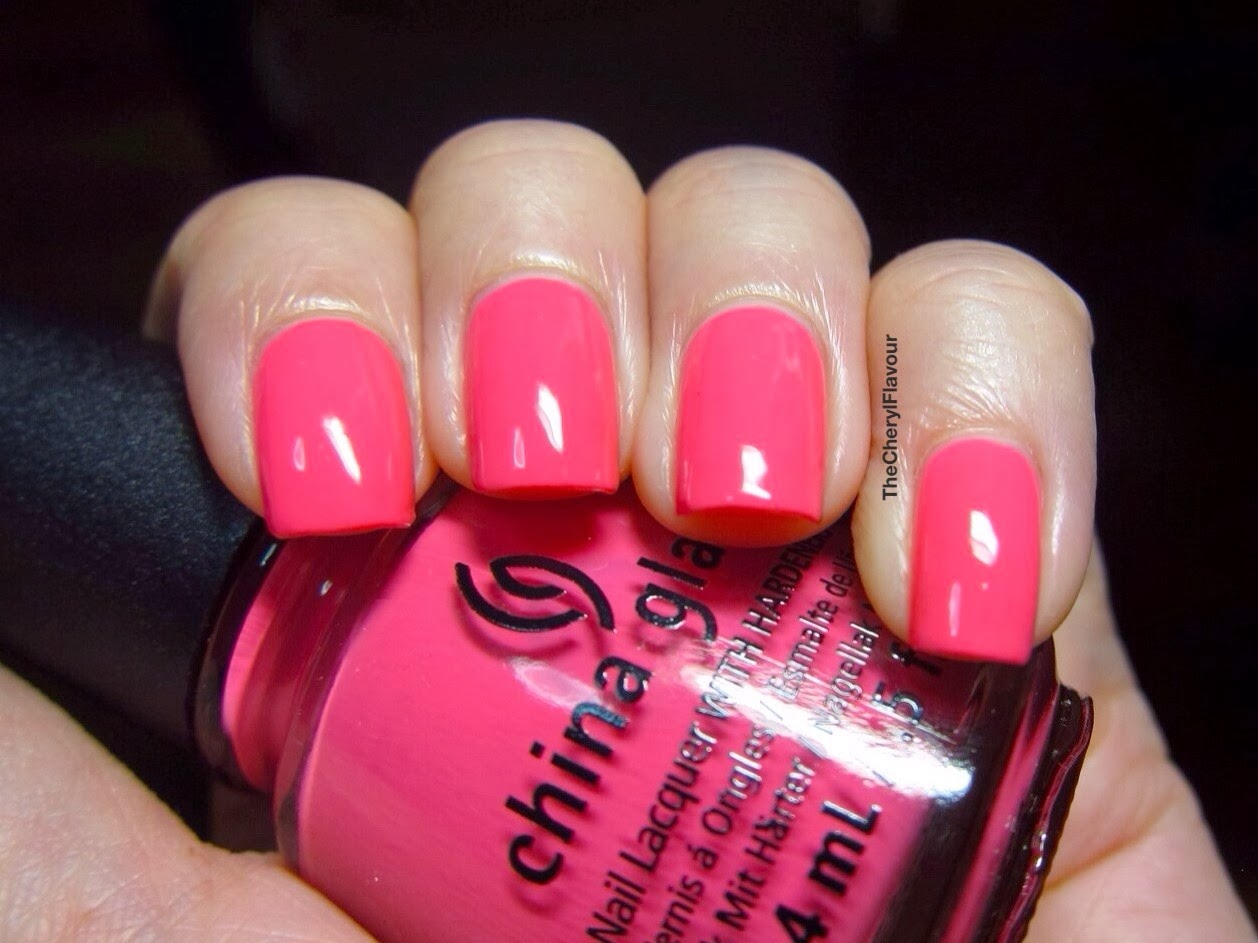 China Glaze Peonies & Park Ave