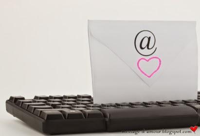 avouer son amour par email
