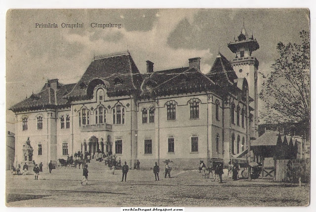 Vechea cladire a Primariei din Campulung Muscel