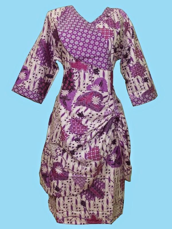 Foto Baju Batik Cewek Pekalongan
