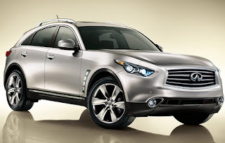New Infiniti FX37 and EX37 are coming soon in 2013