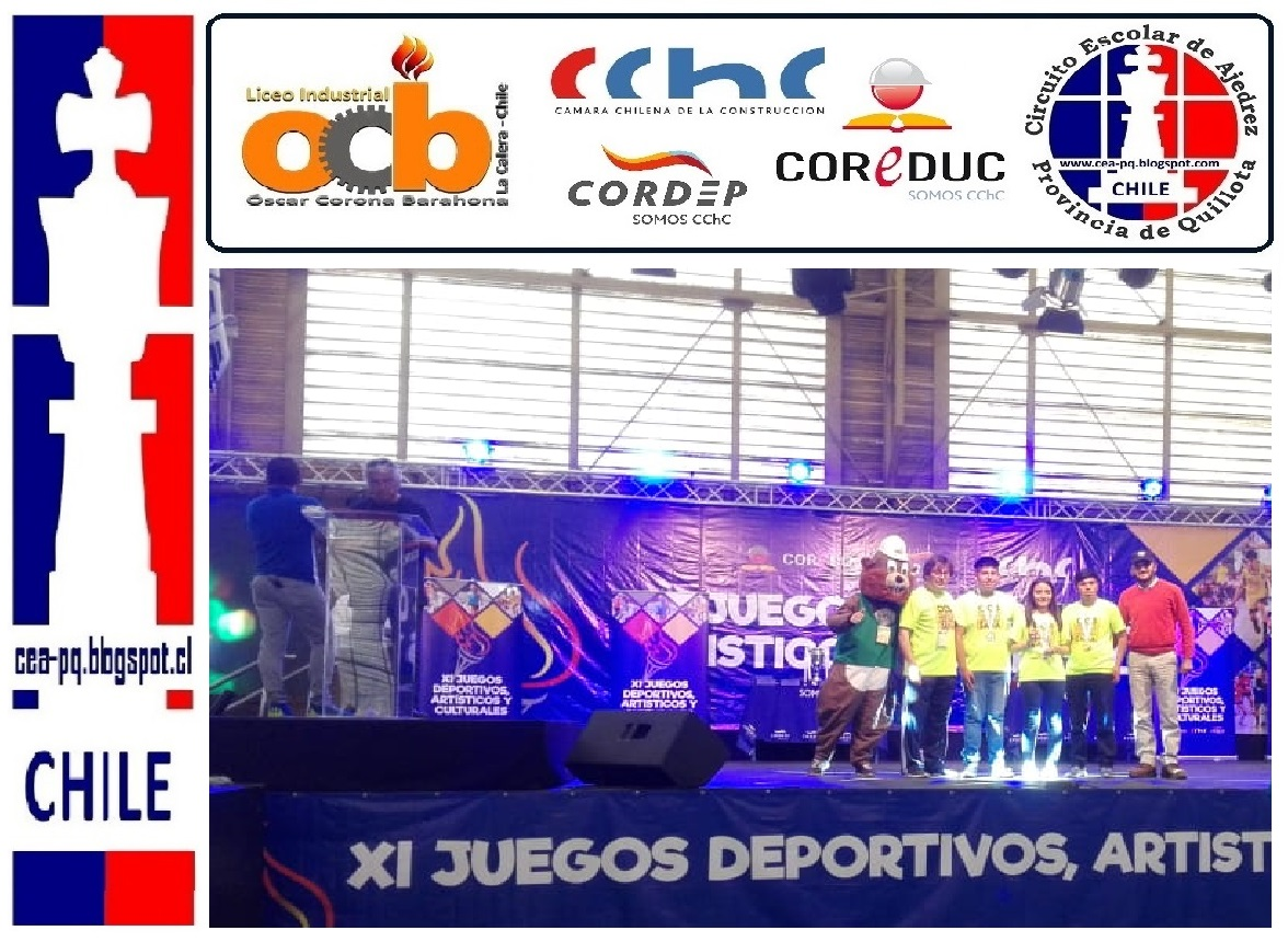 LICEO OSCAR CORONA BARAHONA Campeon Nacional de las XI Olimpiadas de los Juegos Deportivos Artístic