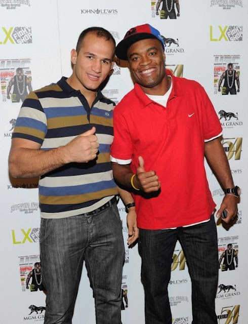 ufc mma heavyweight middleweight champions cigano junior dos santos the spider anderson silva picture image