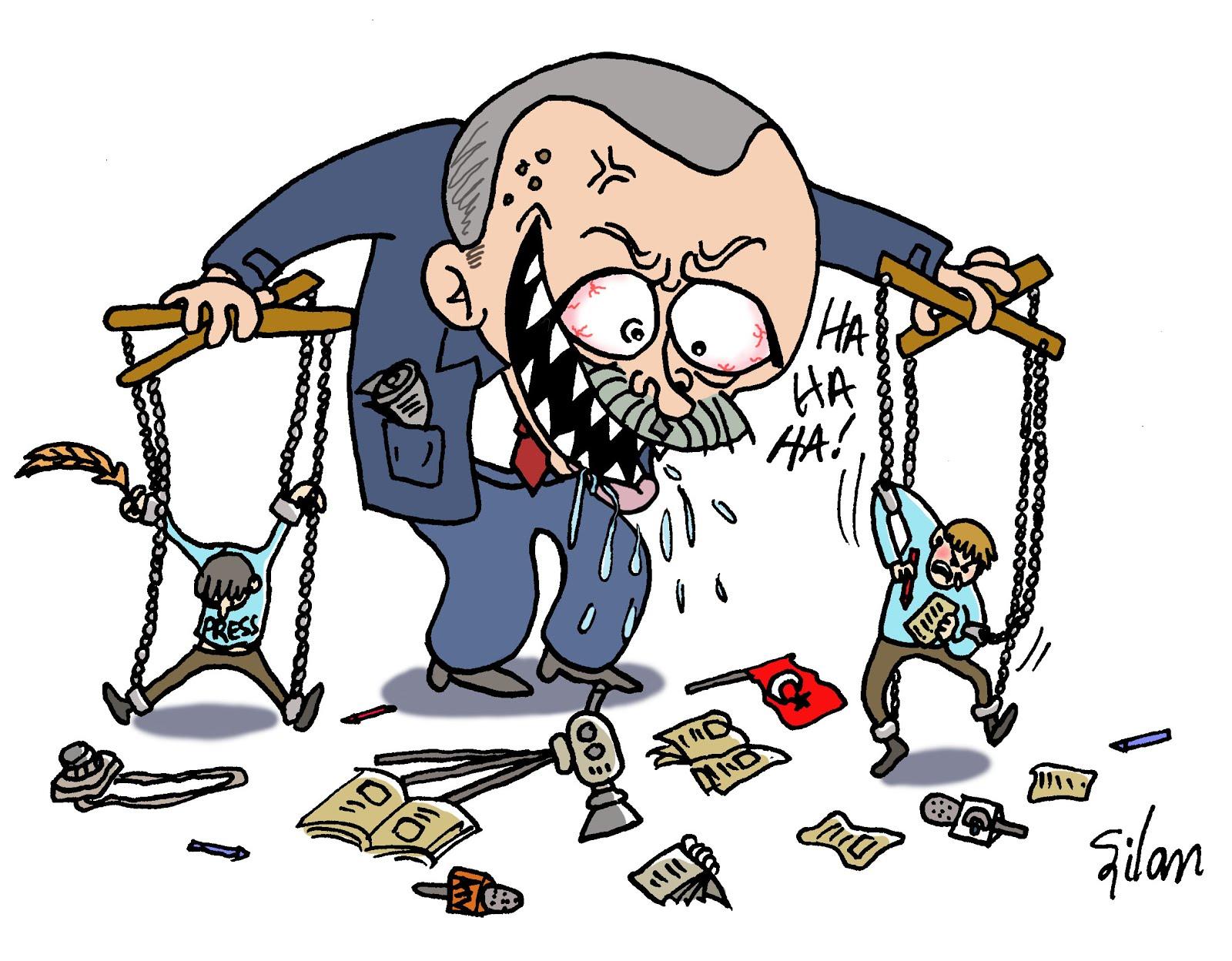Erdogan le marionnettiste...