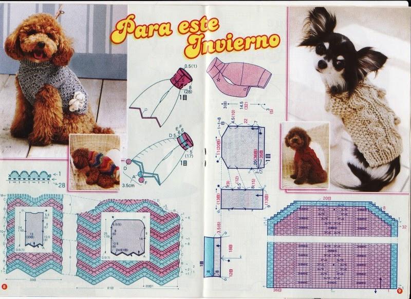 Mis labores en Crochet: Suéteres para las mascotas