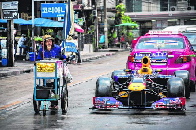 kereta lumba Formula Satu milik pasukan Red Bull