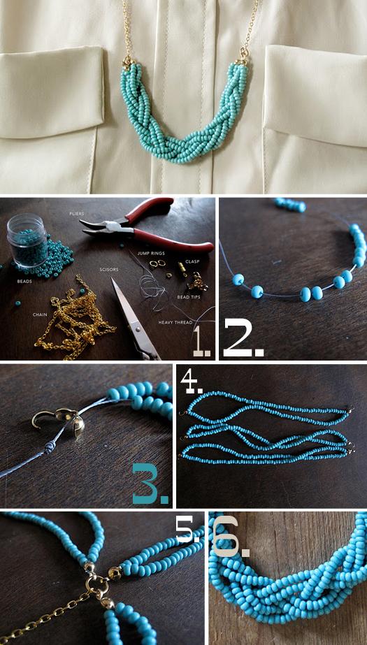 Как изготовить бижутерию своими руками