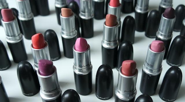 MAC Lipstick Collection 2015