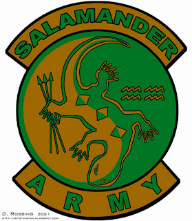 Salamander Army Logo or Insignia, based on Ender's Game Movie