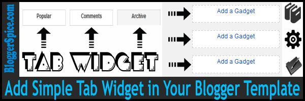 tab widget