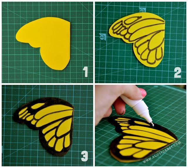 Giocabosco creare con gnomi e fate decorazioni farfalle - Decorazioni con cartoncino ...