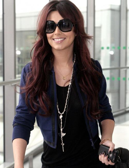 Cheryl Cole Hair Color 1