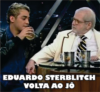 Eduardo Sterblitch no Programa do J de 22/06/12