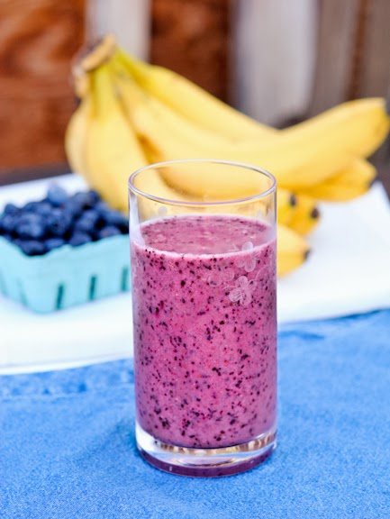 Mood Enhancing Blueberry Smoothie | Raw Edibles