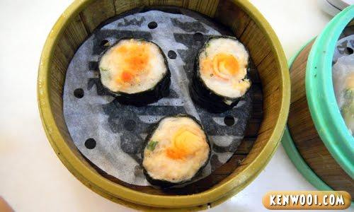 dim sum seaweed roll