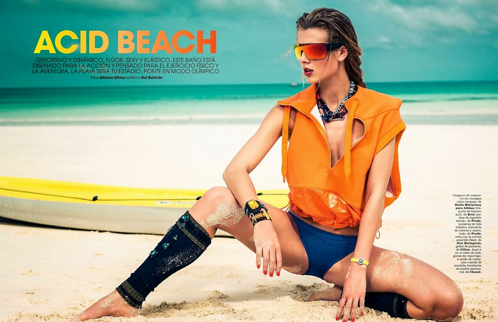 I AM FASHION !!!: Marie Claire Spain May 2014 Editorial