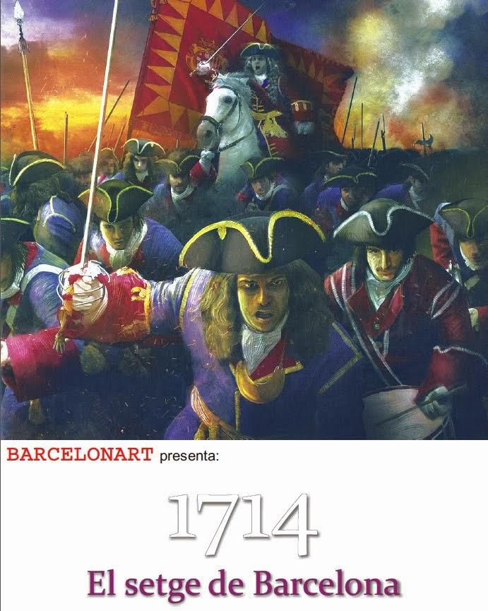 """¡¡NOVETAT!!  """"1714. EL SETGE DE BARCELONA"""""""