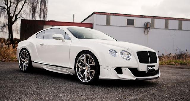 İngiliz firma Bentley'in Continental GTC coupe modeli, Alman tuning