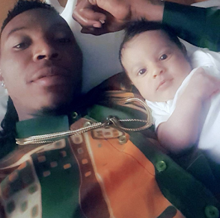 Solidstar and his son