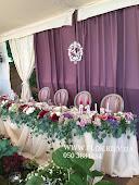 Свадьба в пурпурных оттенках на Террасе Воздвиженского