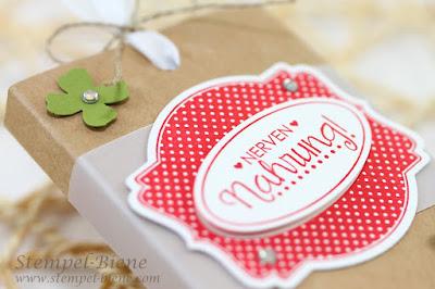 Schokoladenverpackung, Schokolift, Swaps Teamtreffen, Team Stempel-Biene, Stampin up Swaps, Stampin Up Katalog 2015,