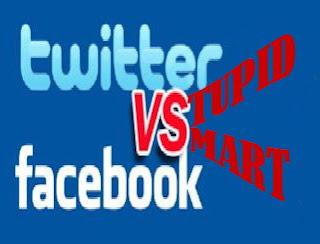 Pilih terbaik Twitter vs facebook stupid vs smart untuk Indonesia bangkit