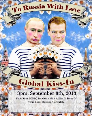 Global Kiss-in a Milano