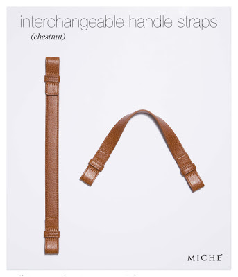 Miche Interchangeable Chestnut Handle Straps