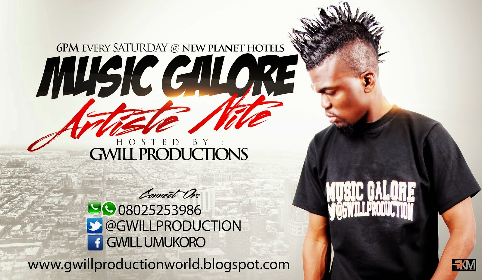 MUSIC GALORE (Artiste Nite)