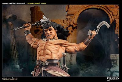 Figura Conan o Bárbaro Sideshow