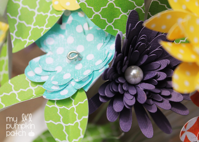 My Li\'l Pumpkin Patch *: Paper Flower Bouquet