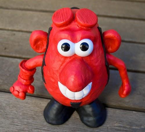 Mr. Potato versión Hellboy