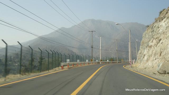 Camino a Farellones - Santiago