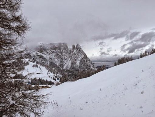 Seiser Alm Schnee Winter