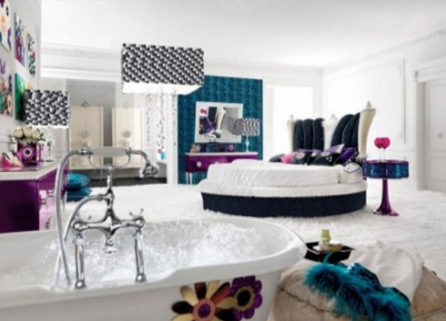 Design Plus: Luxury Bedroom Designs and Decors for Teenage Girls