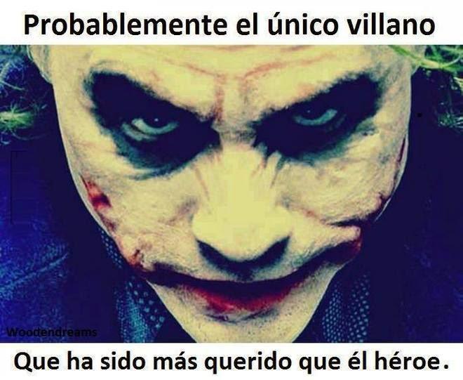 Probablemente el único villano...
