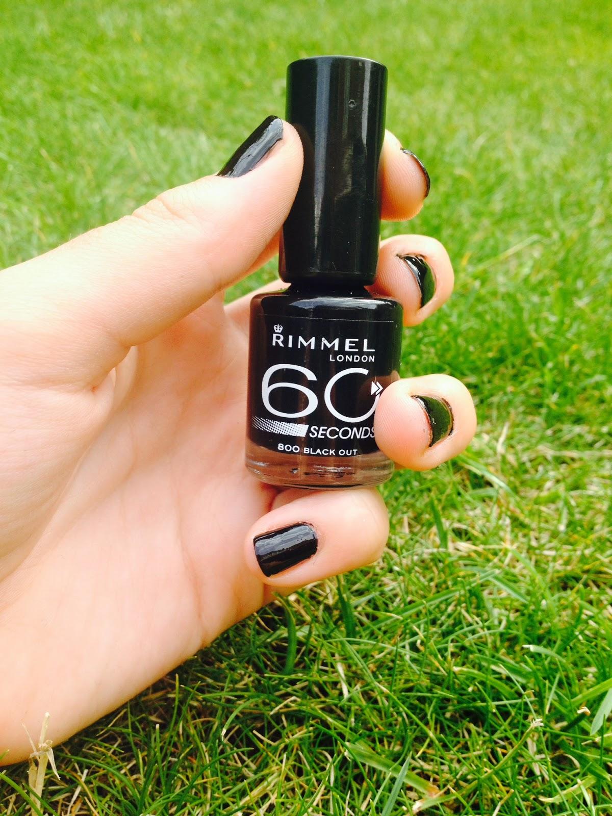 Rimmel 60 Second Nail Polish Review   Beauty Billboard