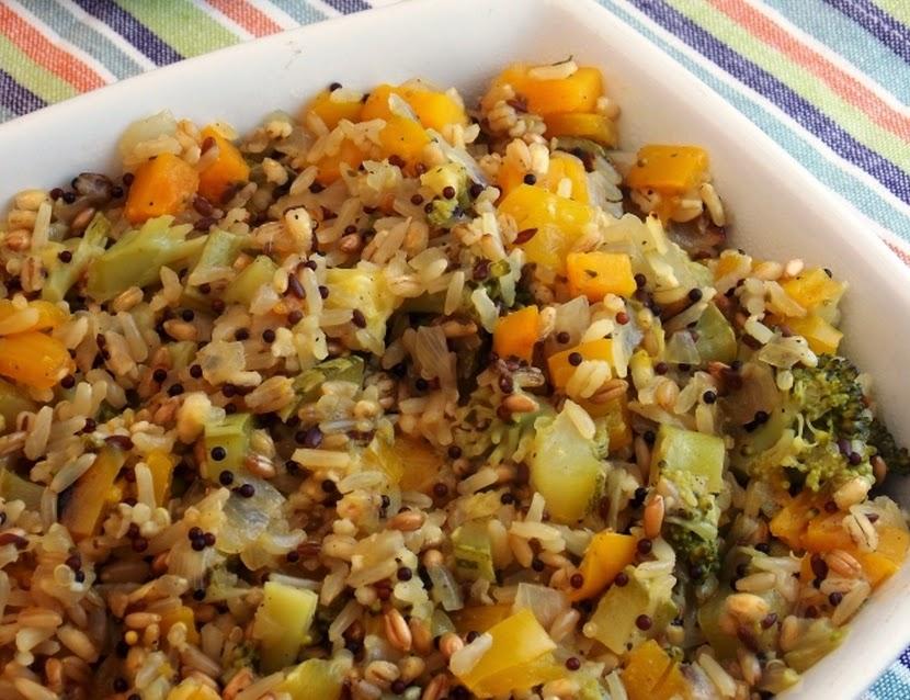 Arroz Carreteiro de Legumes (vegana)