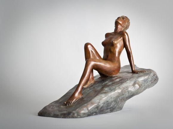 Alain Choisnet esculturas de bronze de mulheres sensuais nuas