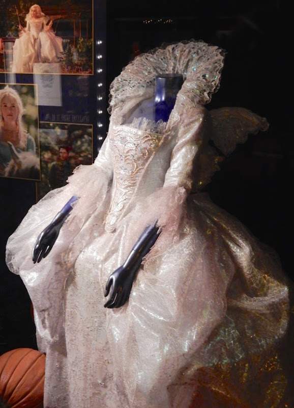 Fairy Godmother Cinderella dress detail
