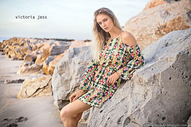 Moda primavera verano 2016 vestidos. Victoria Jess primavera verano 2016.